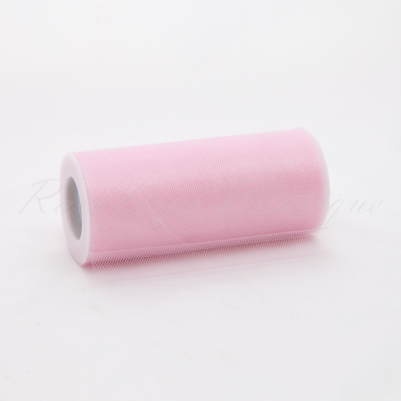 Baby Pink Shimmer Tulle Roll