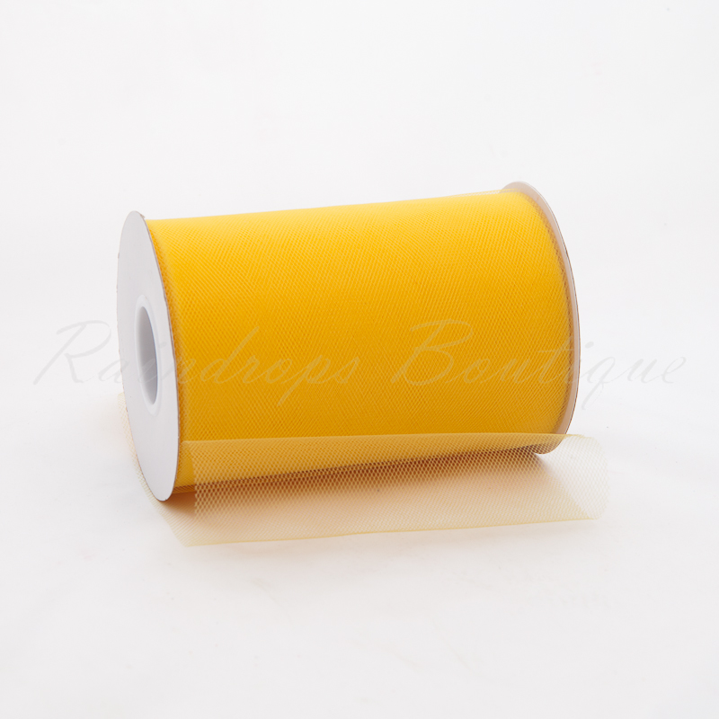 Belle Yellow Tulle Roll 100 Yards
