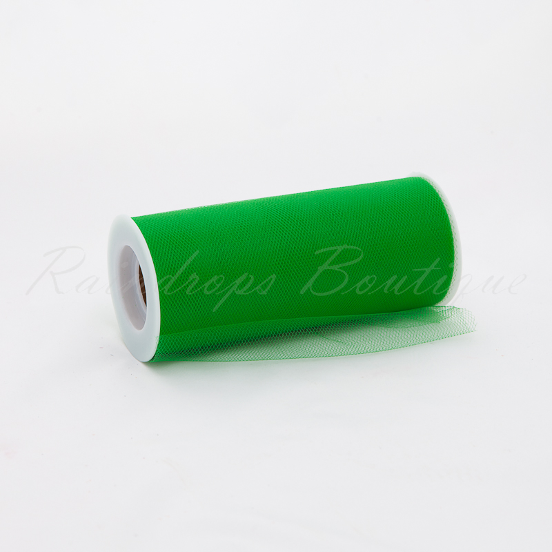 Emerald Tulle Roll 25 Yards