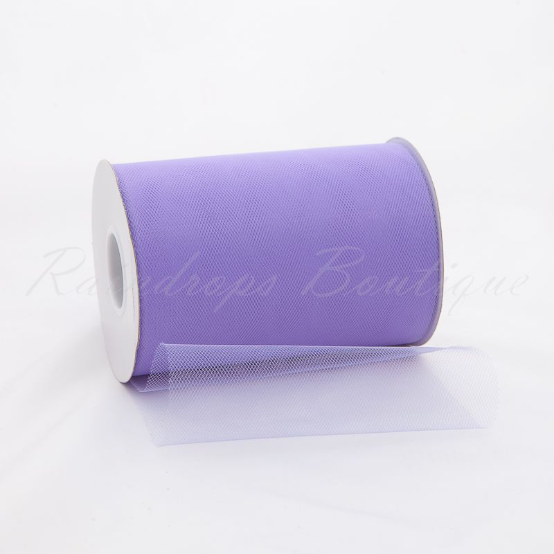 Lavender Tulle Roll 100 Yards