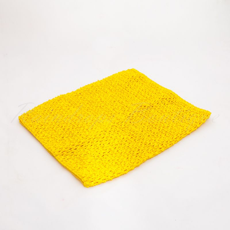 Marigold Crochet Tube Top 10 Inches