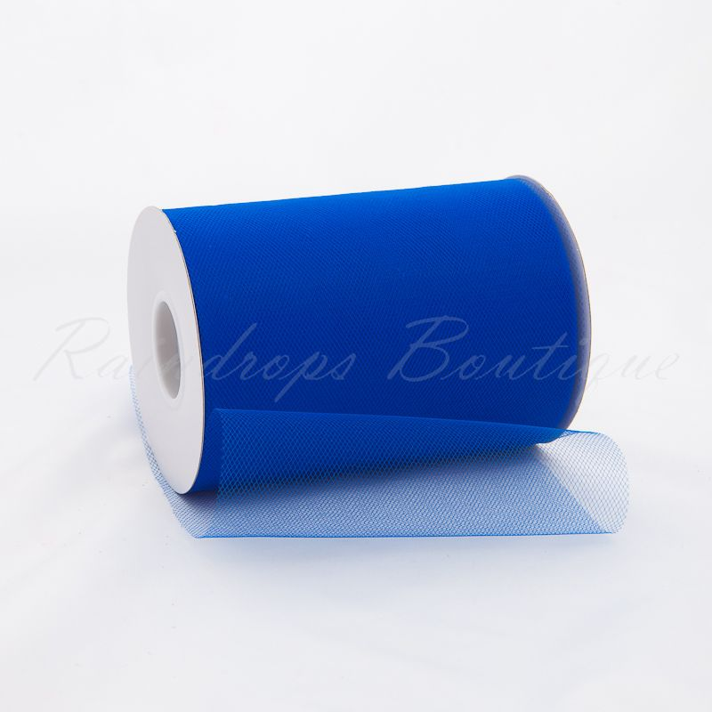 Royal Blue Tulle Roll 100 Yards