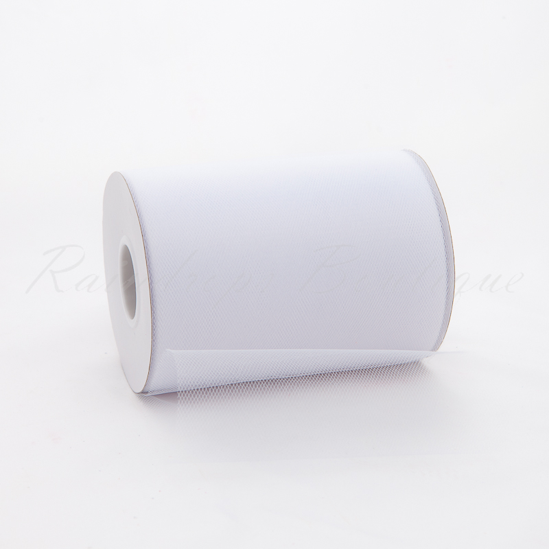 White Tulle Roll 100 Yards