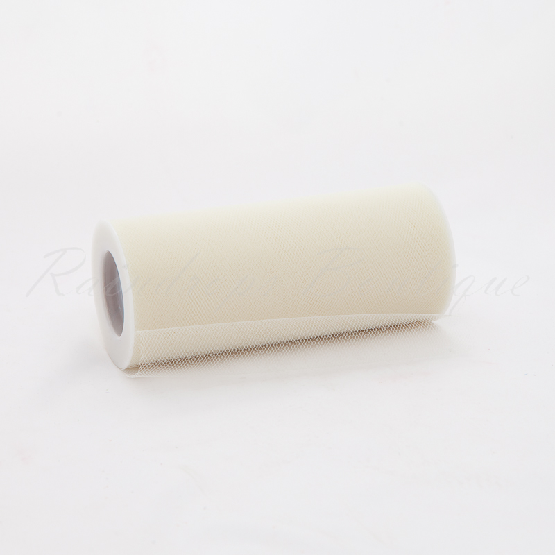 Ivory Tulle Roll 25 Yards