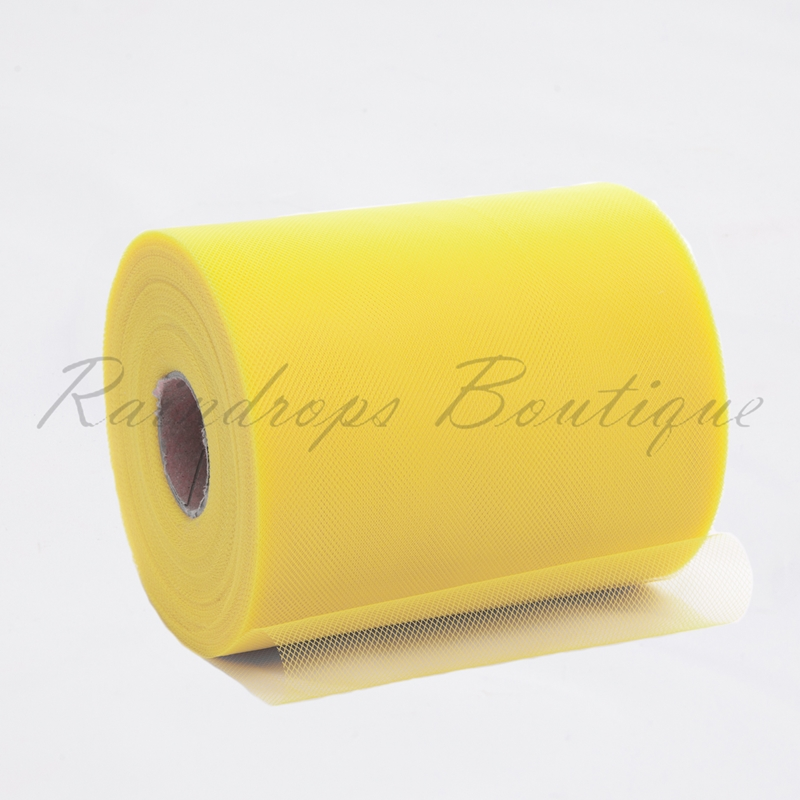 Marigold Polyester Tulle Roll