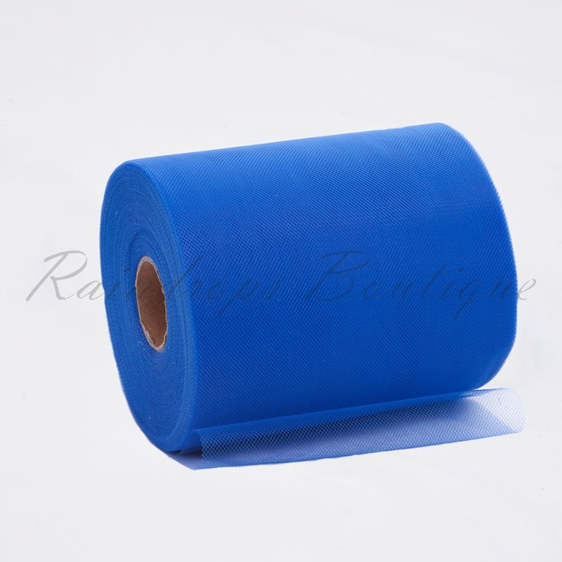 Royal Blue Polyester Tulle Roll