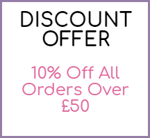 Discount Offer - 10 Percent Off all orders over £50